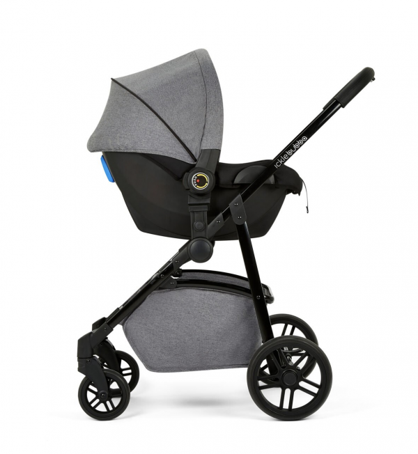 Ickle Bubba Moon 3 in 1 Travel System - Space Grey 8