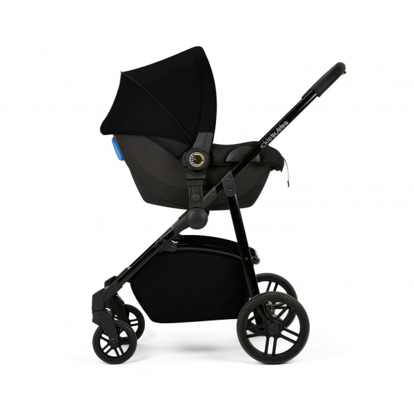 Ickle Bubba Moon 3 in 1 Travel System - Black 9