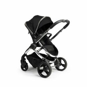 iCandy Peach Pushchair & Carrycot - Chrome Black Twill 11