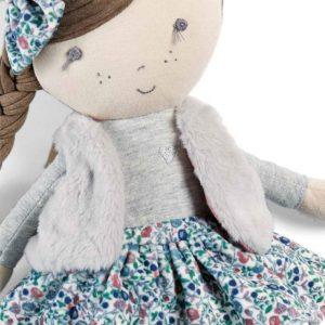 Mamas & Papas Soft Toy - Bella Rag Doll 5