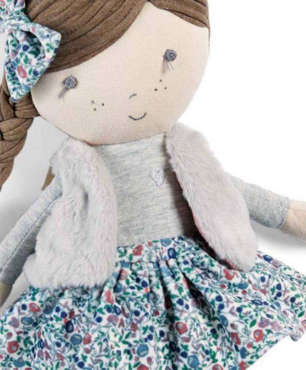 Mamas & Papas Soft Toy - Bella Rag Doll 2