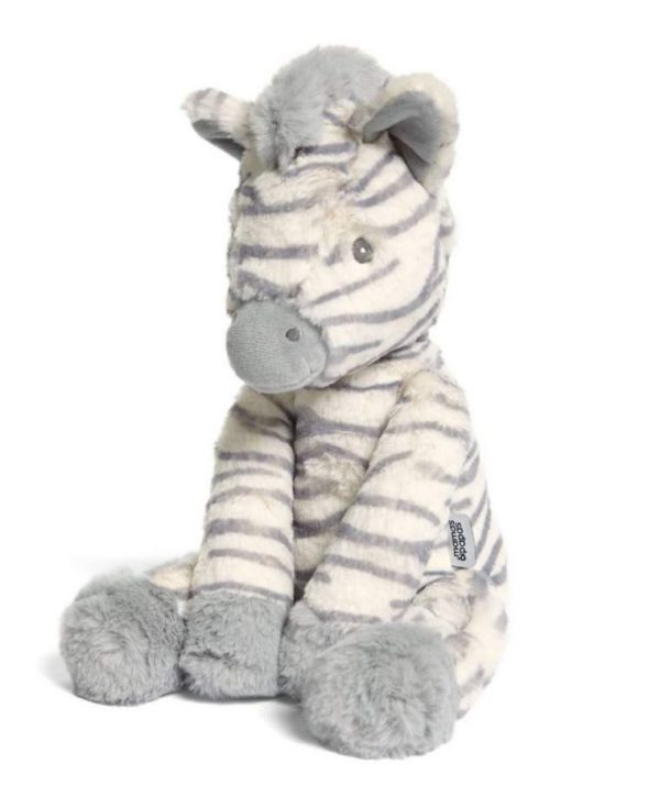 Mamas & Papas World Soft Toy - Ziggy Zebra 2