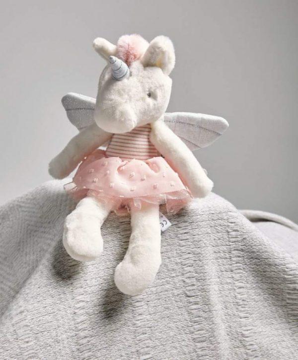 Mamas & Papas Mini Adventures Soft Toy - Unicorn 1