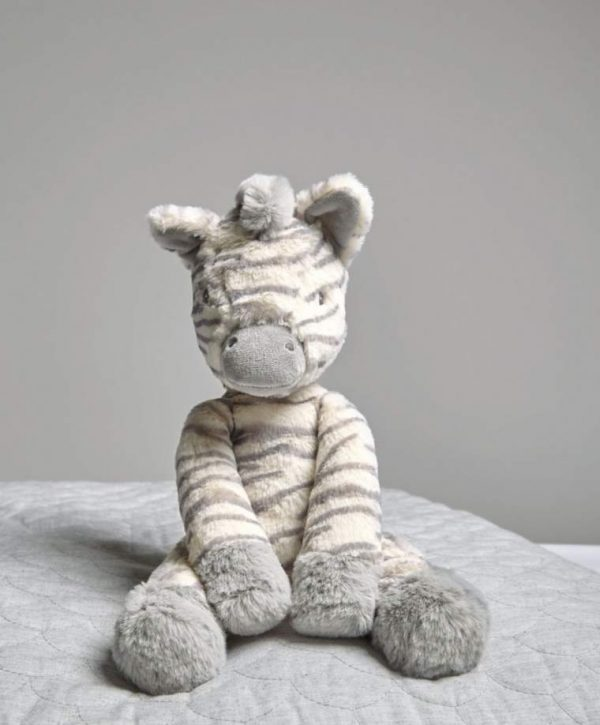 Mamas & Papas World Soft Toy - Ziggy Zebra 1