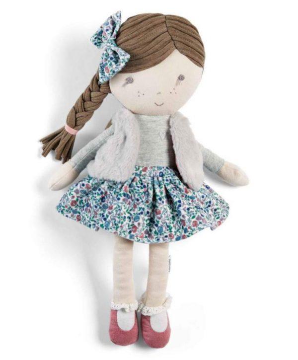 Mamas & Papas Soft Toy - Bella Rag Doll 1