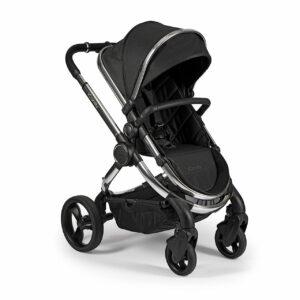 iCandy Peach Pushchair & Carrycot - Chrome Black Twill 13
