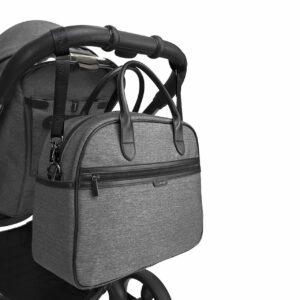 iCandy Peach Bag - Grey Twill 3