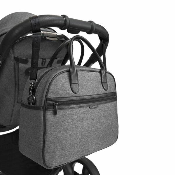 iCandy Peach Bag - Grey Twill 1