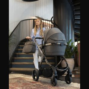 iCandy Peach Pushchair & Carrycot - Phantom Navy Check 7