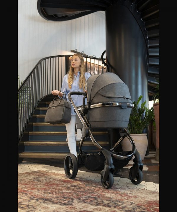 iCandy Peach Pushchair & Carrycot - Phantom Navy Check 3