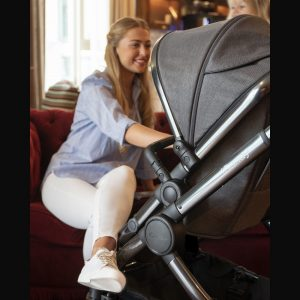 iCandy Peach Pushchair & Carrycot - Phantom Navy Check 8