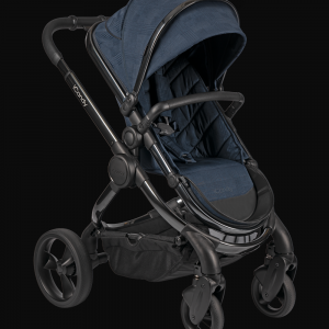 iCandy Peach Pushchair & Carrycot with Bag - Phantom Navy Check 8