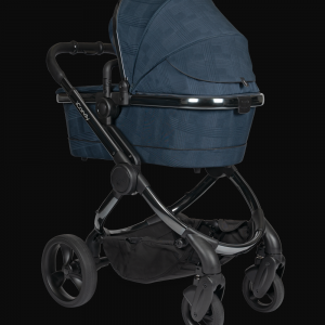 iCandy Peach Pushchair & Carrycot - Phantom Navy Check 6