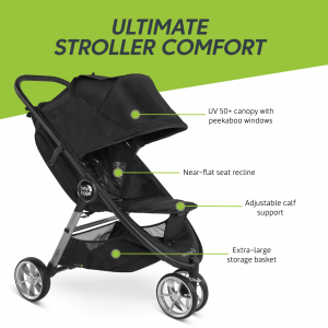 Baby Jogger City Mini 2 - 3 Wheel - Jet 9