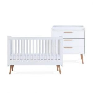 Silver Cross Brighton Cot Bed & Dresser 6