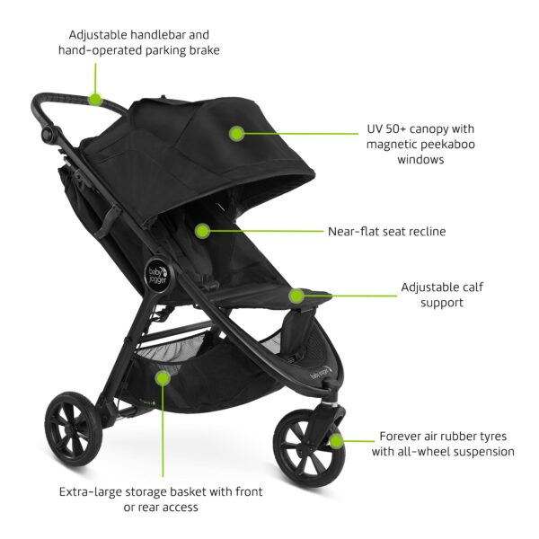 Baby Jogger City Mini GT 2 Factory Seconds - Slate 9