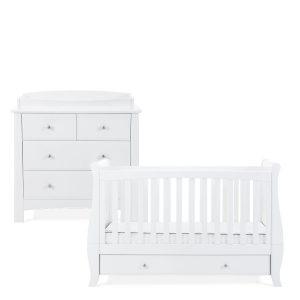 Silver Cross Elegance Cot Bed & Dresser 6