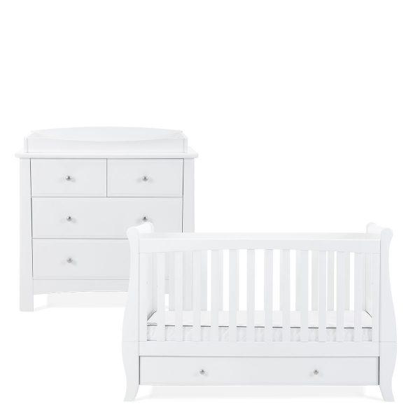Silver Cross Elegance Cot Bed & Dresser 1