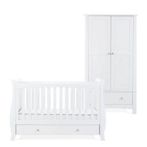 Silver Cross Elegance Cot Bed & Wardrobe 5