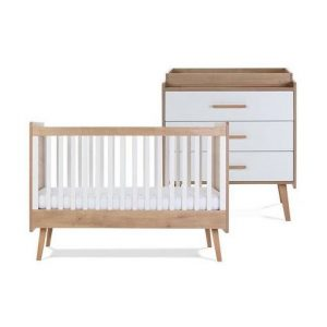 Silver Cross Westport Cot Bed & Dresser 7