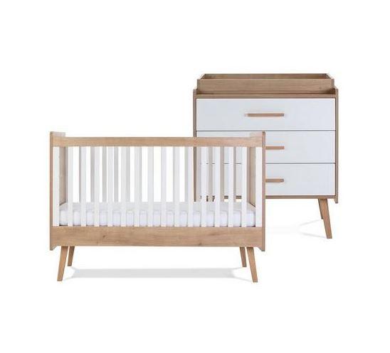 Silver Cross Westport Cot Bed & Dresser 1