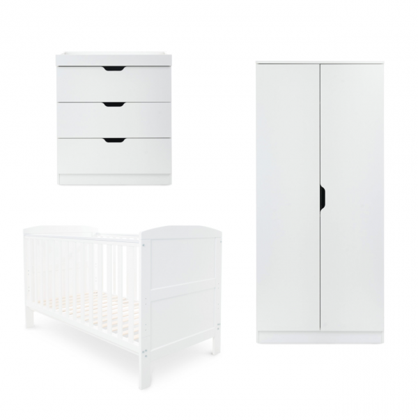 ickle bubba babyhood Coleby 3 piece room set white