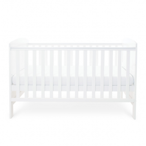Ickle Bubba Coleby Cot Bed - White 8