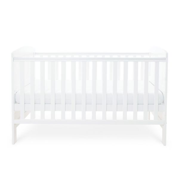 Ickle Bubba Coleby Cot Bed - White 3