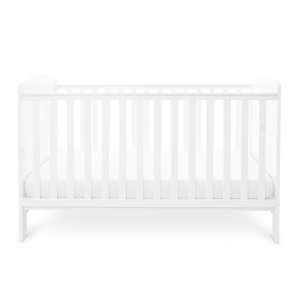 Ickle Bubba Coleby Cot Bed - White 9