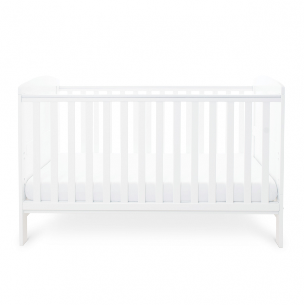 Ickle Bubba Coleby Cot Bed - White 4