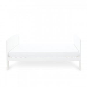 Ickle Bubba Coleby Cot Bed - White 10