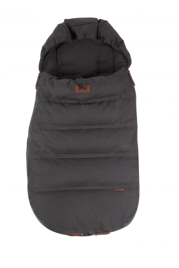 silver cross wave footmuff charcoal