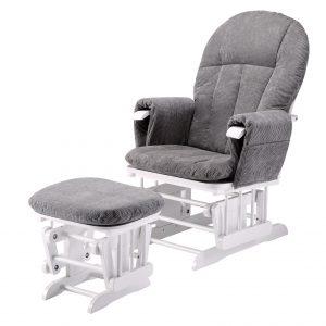 Mini Uno Glider Chair & Footstool 4