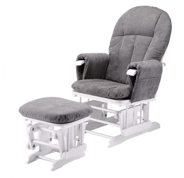 Mini Uno Glider Chair & Footstool 1