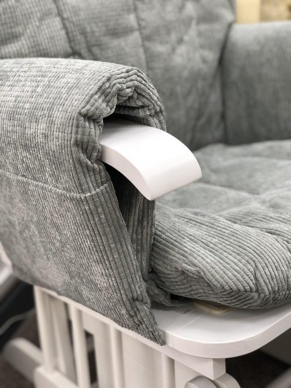 Mini Uno Glider Chair & Footstool 3