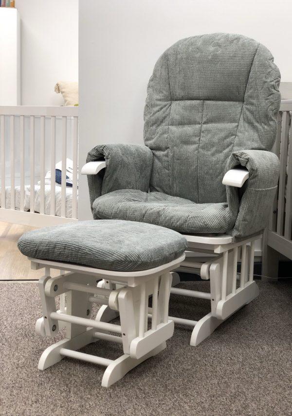 Mini Uno Glider Chair & Footstool 2