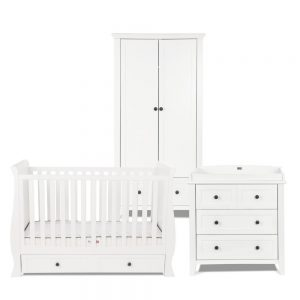 Silver Cross Nostalgia White Sleigh Room Set 9