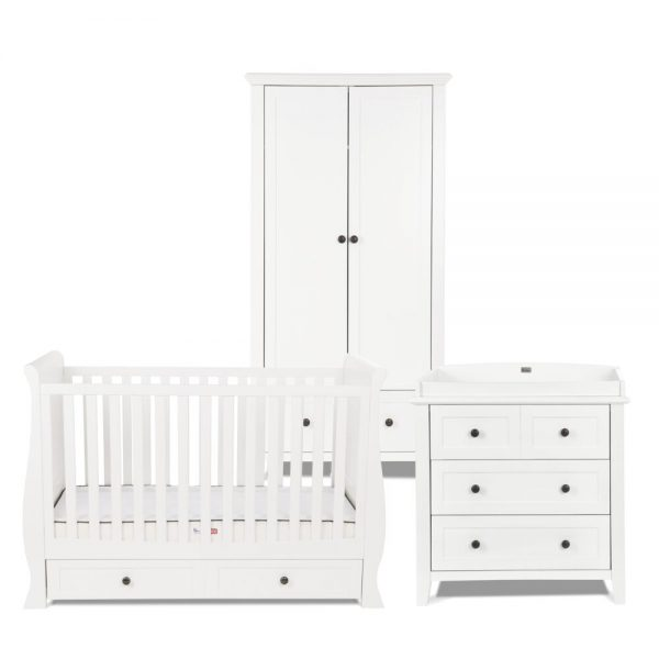 Silver Cross Nostalgia White Sleigh Room Set 1