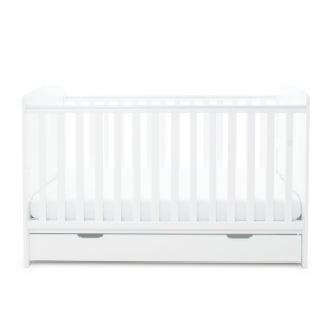 Ickle Bubba Coleby 4pc Room Set - White 9