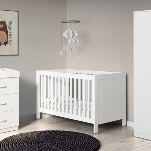 Ickle Bubba Grantham nursery furniture room set white