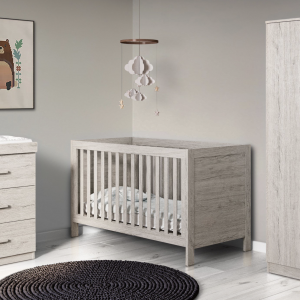 Ickle Bubba Grantham nursery room set grey oak