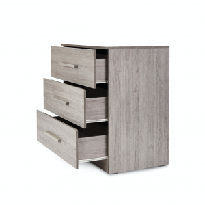 Ickle Bubba Grantham 3pc Room Set - Grey Oak 19