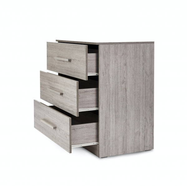 Ickle Bubba Grantham 3pc Room Set - Grey Oak 8
