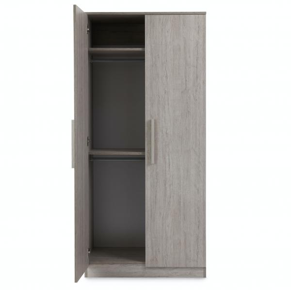Ickle Bubba Grantham 3pc Room Set - Grey Oak 9