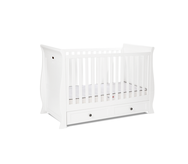 Silver Cross Nostalgia White Sleigh Room Set 2