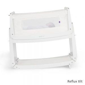 SnuzPod 3 Bedside Crib - White 10