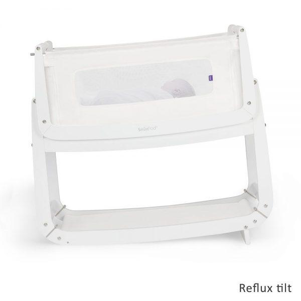 SnuzPod 3 Bedside Crib - White 3