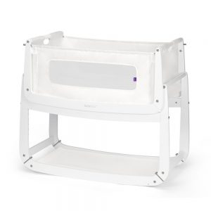 SnuzPod 3 Bedside Crib - White 8