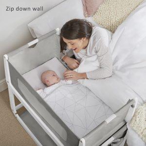 SnuzPod 3 Bedside Crib Bundle - Dusk 12