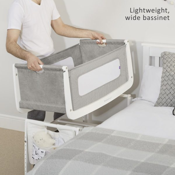 SnuzPod 3 Bedside Crib Bundle - Dusk 7